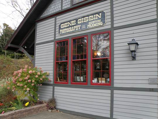 Gene Gissin's gallery and studio