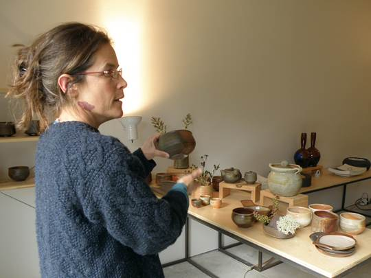 Liz Lurie describes her glazes