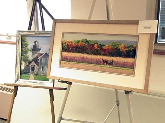 Lovely examples of Carolyn Ahern's pastels