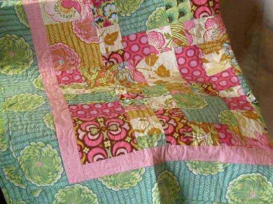 Quilted pieces by Marie Henry