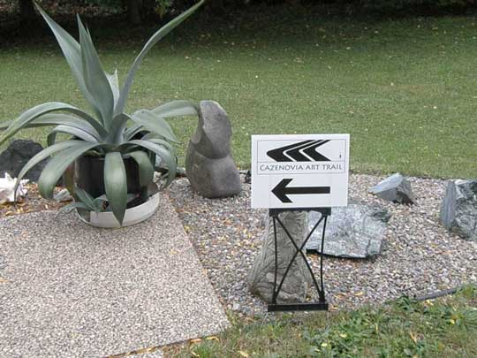 Which way to the next open studio?