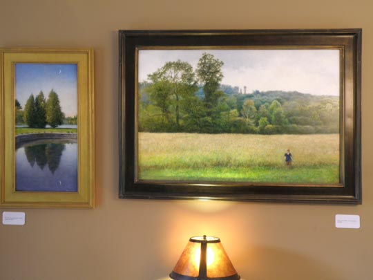 Two paintings by Wayne Daniels